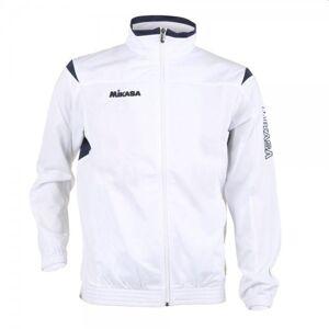 Mikasa Volleyball Trainingsjacke Erwachsene weiß navy XL schwarz Herren