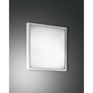 Fabas Luce Wandleuchte 22x22cm Fabas Luce OSAKA 1x E14 Metallrahmen / Glas - weiß