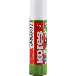 KORES Deutschland GmbH Kores eco Klebestift, Ökologischer, lösungsmittelfreier und auswaschbarer Kleber, 10 g - Stick