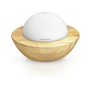 Leifheit AG SOEHNLE Design Modena Aroma Diffuser, Mit automatischem Farbwechsel, Aus echtem Bambus und mattiertem Glas