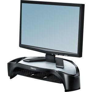 Fellowes Smart Suites Monitor Ständer Plus, Der Displayständer mit drei Höheneinstellungen für maximalen Komfort, Maße: 10,16 x 47,78 x 32,86 cm