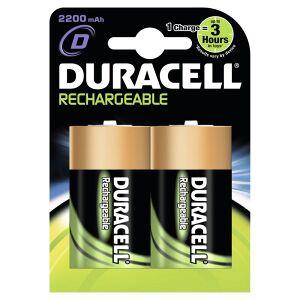 Procter & Gamble Service GmbH DURACELL Akku D - 2200 mAh, Die praktischen Wiederaufladbaren von DURACELL, 1 Packung = 1 Stück