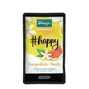 Kneipp GmbH Kneipp® #happy Badekristalle, Badezusatz für die fröhliche Zeit in der Badewanne, 1 Packung = 1 Beutel à 60 g