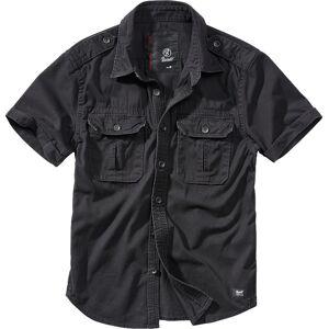 Brandit Vintage Hemd Schwarz 2XL