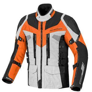 Berik Striker Motorrad Textiljacke Schwarz Orange 48