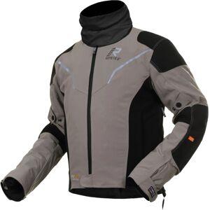 Rukka Elas Motorrad Textiljacke Grau 46