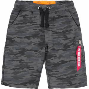 Alpha Industries X-Fit Cargo Short Schwarz Grau S