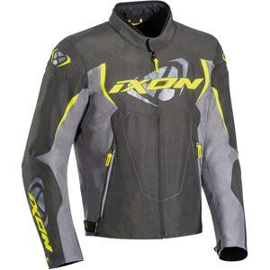 Ixon Cobra Motorrad Textiljacke Grau Gelb S