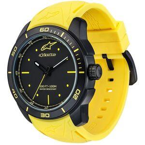 Alpinestars Tech Black Matte Armbanduhr Gelb Einheitsgröße