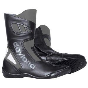 Daytona Carver Motorradstiefel Schwarz Grau 38