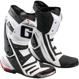 Gaerne GP1 Racing Motorradstiefel Weiss 39