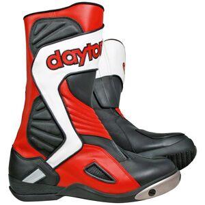 Daytona Evo Voltex Racing Motorradstiefel Schwarz Weiss Rot 41