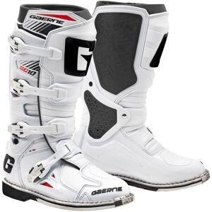 Gaerne SG-10 Goodyear Motocross Stiefel Weiss 45