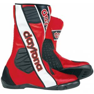Daytona Security Evo G3 Racing Stiefel Schwarz Rot 44