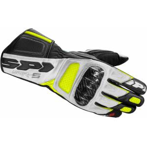 Spidi STR-5 Handschuhe Schwarz Gelb M