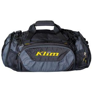 Klim Duffle Tasche Schwarz Grau Einheitsgröße