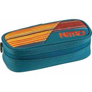 Nitro Pencil Case Federmäppchen Blau Einheitsgröße