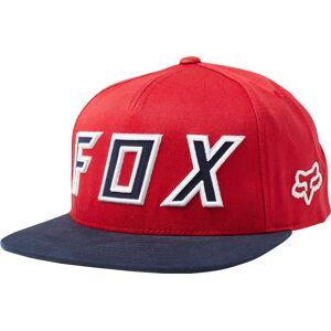 FOX Posessed Snapback Kappe Rot Einheitsgröße