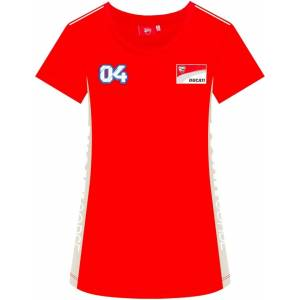 GP-Racing Ducati 04 Contrast Sides Damen T-Shirt Rot XS