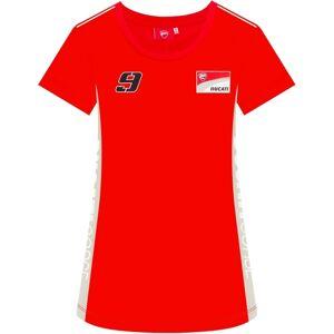 GP-Racing Ducati 9 Contrast Sides Damen T-Shirt Rot M