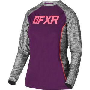 FXR Helium X Tech Damen Funktionsshirt Grau Lila XS