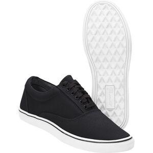 Brandit Bayside Sneaker Schwarz Weiss 45