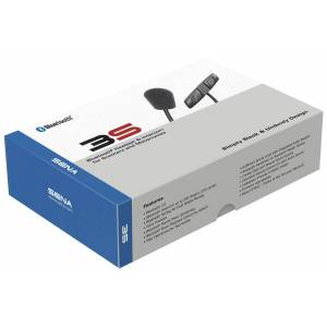 Sena 3S-W Bluetooth Kommunikationssystem - Schwanenhalsmikrofon Schwarz Einheitsgröße