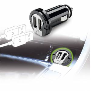 Interphone Cellularline USB Car Charger Dual Adapter