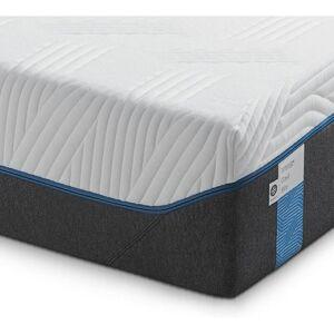 Tempur Matratze Cloud Elite , Grau, Weiß , Textil , 120x200 cm , Bezug abnehmbar/waschbar, bessere Druckentlastung durch Noppenstruktur, alternative Größen erhältlich , Schlafzimmer, Matratzen