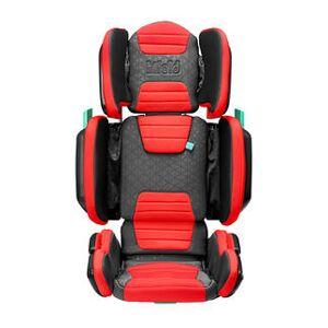 Hifold Kindersitz in Handgepäckgröße, 2–12Jahre, rot