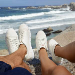 Swims Wash&Wet-Sneaker, Damen, 41 - Weiß
