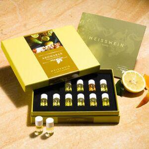 AROMABAR der Weißweindüfte, 12 Duft-Flakons