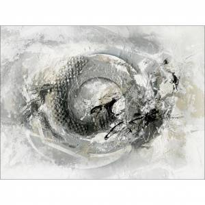 MÖBELIX Keilrahmenbild Abstrakt In Grau