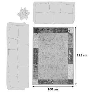 Ombra Webteppich Creme Maximilian 160x225 cm