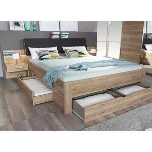 MID.YOU Bett inkl. Nachtkästchen + Bettladen 180x200 Bensheim