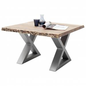 MÖBELIX Couchtisch Holz mit Massiver Tischplatte Cartagena, Akazie