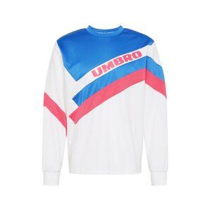UMBRO Sweatshirt 'SECTOR' blau / hellpink / weiß