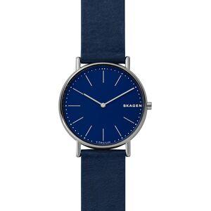 SKAGEN Uhr blau / silber