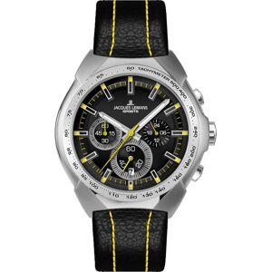 Jacques Lemans Chronograph 'Sport 1-1675E' gelb / schwarz