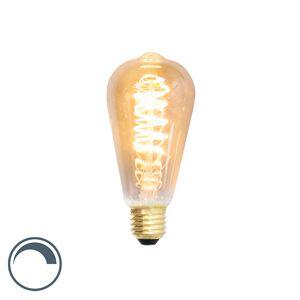 Calex E27 dimmbare LED Glühlampe ST64 4W 200 Lumen 2100K