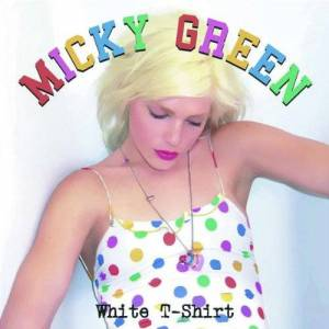 Gebraucht: Micky Green White T-Shirt