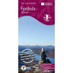 Landkartenhaus - Turkart 2607: Fjordruta - Nordmøre, Norwegen topographische Wanderkarte 1:100.000, wasser- und reißfest - Preis vom 18.09.2020 04:49:37 h