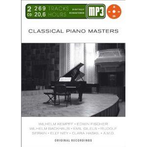 Kempff - Classical Piano Masters-Mp 3 - Preis vom 04.12.2020 06:06:01 h