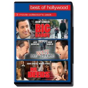 Adam Sandler - Big Daddy/Die Wutprobe/Mr. Deeds - Best of Hollywood (3 DVDs) - Preis vom 23.11.2020 06:07:38 h