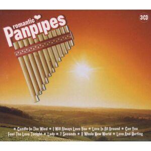 Various - Romantic Panpipes 3-CD - Preis vom 18.09.2020 04:49:37 h