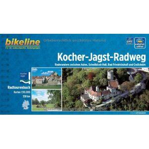 Esterbauer - bikeline Radtourenbuch: Kocher-Jagst-Radweg: Radwandern zwischen Aalen, Schwäbisch Hall, Neckar und Crailsheim, wetterfest/reißfest - Preis vom 31.07.2021 04:48:47 h