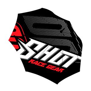 Shot Race Gear Regenschirm Shot Schwarz