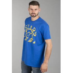 Alpinestars T-Shirt Alpinestars Haze Royal Blau