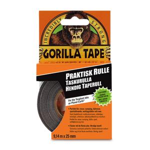 Gorilla Klebeband Gorilla To-Go Schwarz 25mm x 9,14m