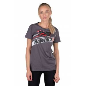 VR46 T-Shirt Maverick Vinales Grau